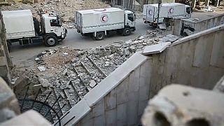 Syrie : couloir humanitaire exigé et suspicion d'attaque chimique