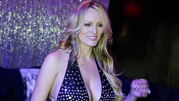 Adult film actress Stephanie Clifford, also known as Stormy Daniels