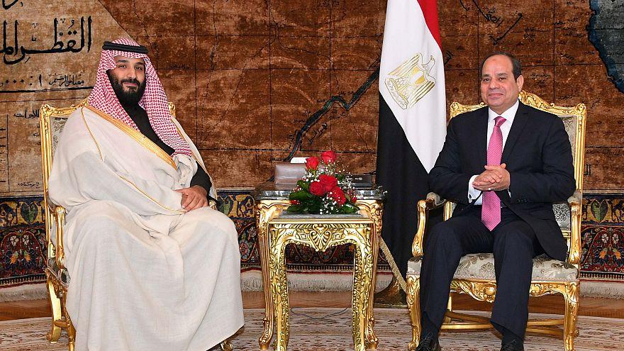 """مباحثات السيسي وبن سلمان: رفض للتدخل الإيراني ومواجهة """"الدعم القطري للإرهاب"""""""