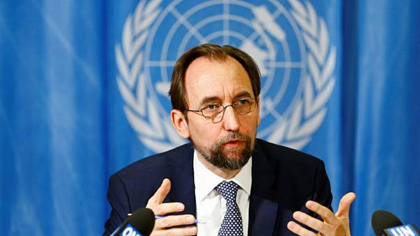مفوض الأمم المتحدة السامي لحقوق الإنسان الأمير زيد رعد بن الحسين