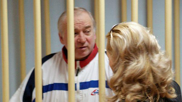 سرگی اسکریپال در دادگاهی در روسیه
