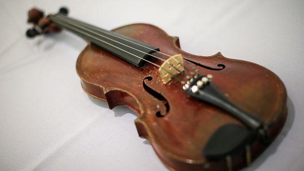 Le violon d'Einstein aux enchères