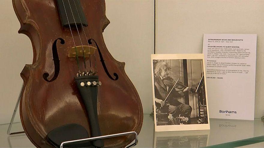 Einsteins Geige wird versteigert