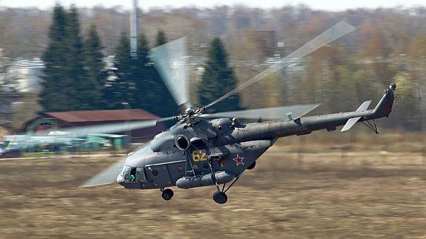 دستکم ۵ نفر در سقوط بالگرد روسی در چچن کشته شدند