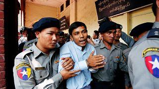 Deux journalistes face à la justice birmane