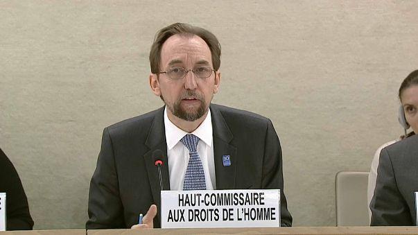 UN human rights chief Zeid Ra'ad Al Hussein