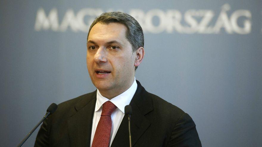 Lázár János sajtótájékoztatót tart Budapesten 2018. február 1-jén