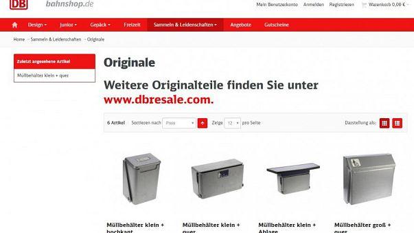 Deutsche Bahn vende papeleras de segunda mano