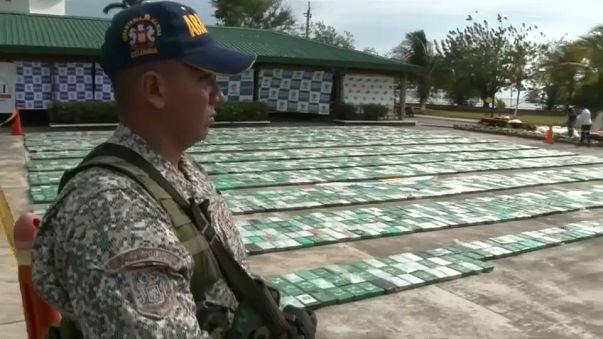 Kolombiya'da muz kolilerinin içinde kokain ele geçirildi