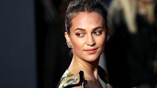 """Alicia Vikander bei der europäischen Premiere von """"Tomb Raider"""" in London"""