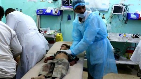 استهداف مدنيين في أكثر من أربعين غارة لقوات التحالف على اليمن