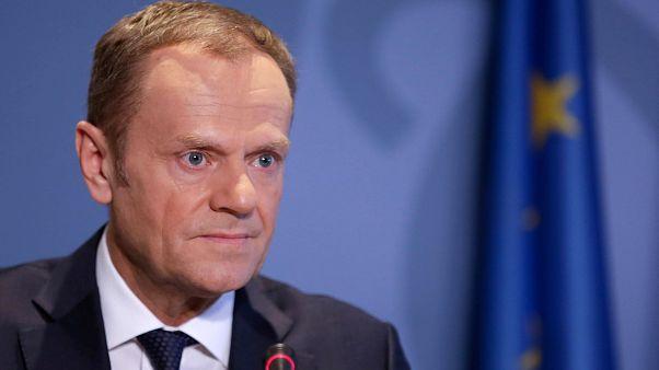 El presidente del Consejo Europeo, Donald Tusk