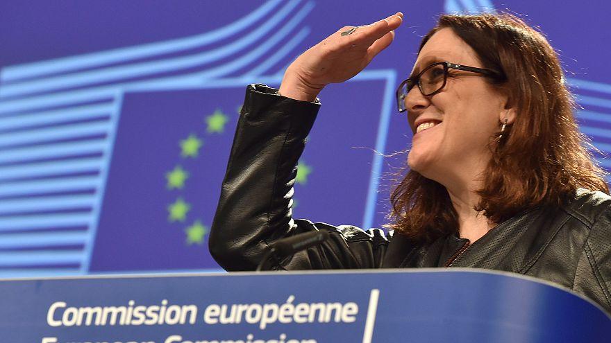 Comissária europeia para o Comércio, Cecilia Malmstrom
