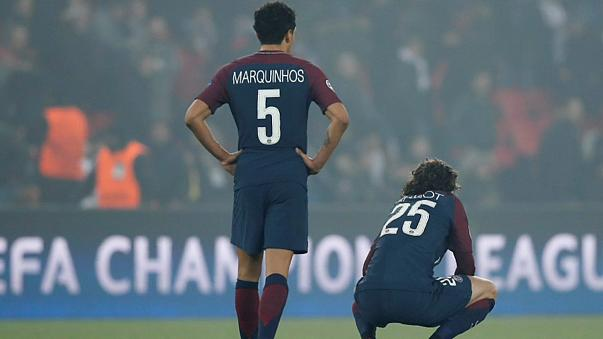 Disappointment for PSG after Real Madrid defeat