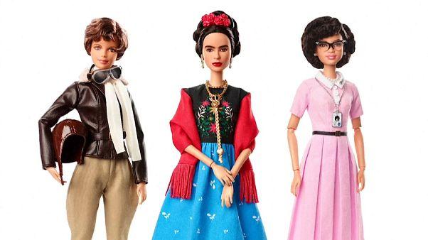 Barbies pioneras para el 8 de marzo