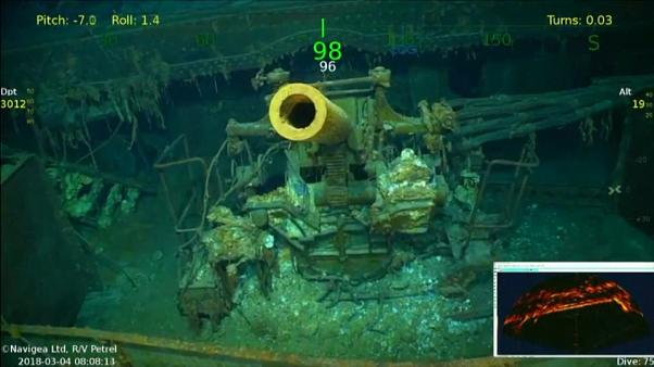 WW2 US aircraft carrier discovered off eastern Australia
