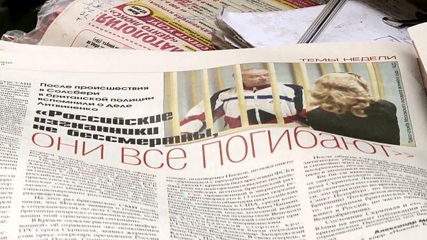 Skripal case sparks UK-Russia spy row
