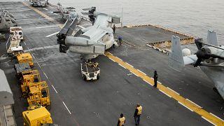 Το πολεμικό πλοίο USS Iwo Jima