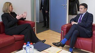 Βρυξέλλες: Συνάντηση Μογκερίνι - Ντιμιτρόφ