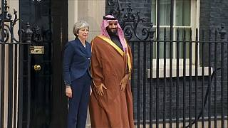 Theresa May to press Saudi prince over human rights concerns