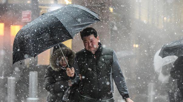 Heftige Unwetter im Nordosten der USA