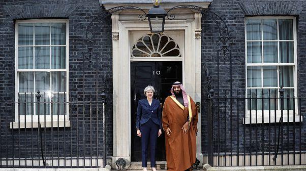 """انتقادات واسعة لـ """"حملة الدعاية"""" لزيارة بن سلمان إلى بريطانيا"""