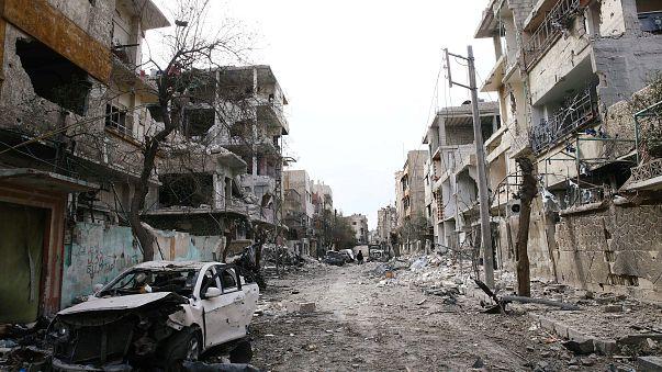 نصف الغوطة الشرقية  في قبضة قوات الحكومة السورية