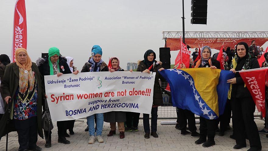 Vicdan Konvoyu: Suriyeli kadınların hapishanelerden kurtulmasını istiyoruz