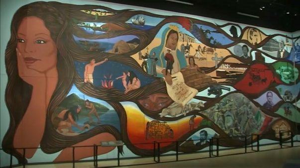 El mural de la historia de Los Ángeles