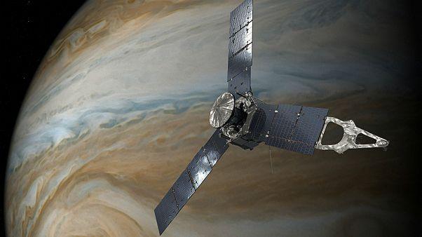 A sonda anda pela órbita de Júpiter desde julho de 2016