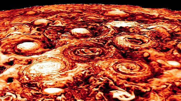 Юпитер открывает свои секреты