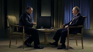 Russia's President Vladimir Putin talks poison on state television