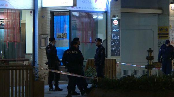 Viyana'da 4 kişiyi bıçakla yaralayan saldırgan yakalandı