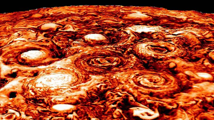 Júpiter revela nuevos secretos