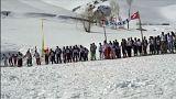 اسکی در بامیان افغانستان