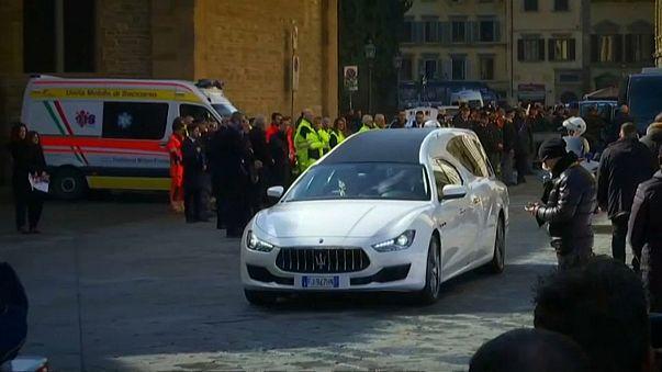 Davide Astori funeral: fans and football stars bid farewell