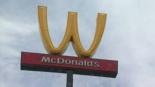 McDonald's flips its arches for Women's Day