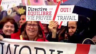 Manifestation pour la journée des droits des femmes