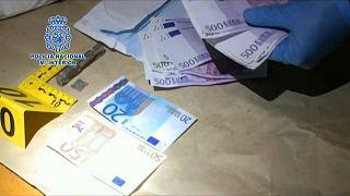Desmantelada rede de falsificação de moeda