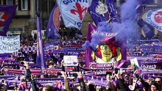 Tausende Fans nehmen Abschied vom verstorbenen Davide Astori
