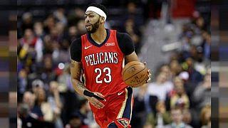 NBA: infortunio per Davis