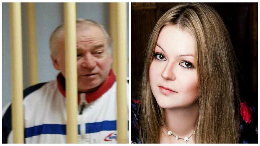 الجاسوس الروسي سيرجي سكريبال وابنته يوليا