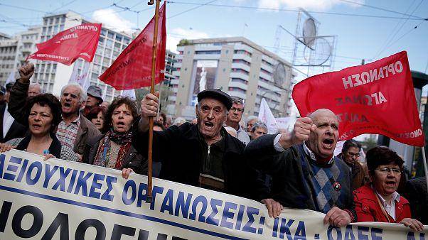 En Grèce, le cri d'alarme des retraités