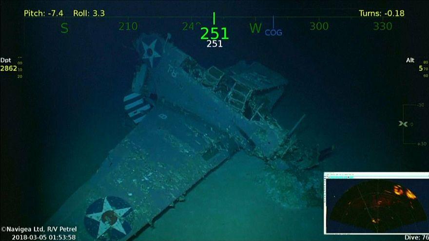 Найден первый погибший авианосец США