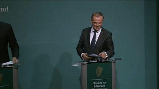 Tusk: 'Önce İrlanda sorunu çözülmeli'