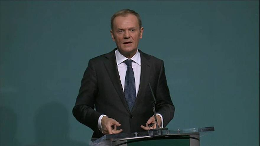 'Ireland first' - EU's Tusk fires Brexit warning shot