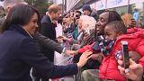 Herzlicher Empfang für Prinz Harry und Meghan in Birmingham