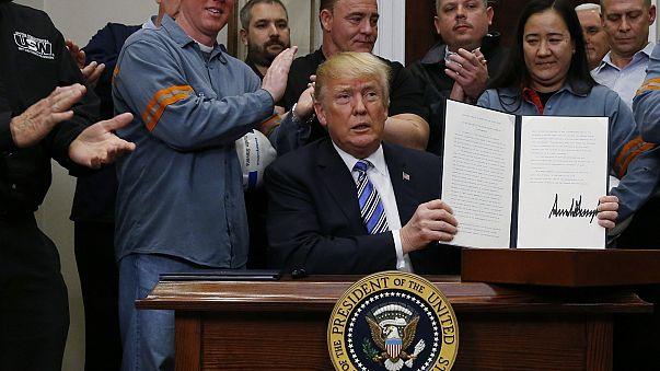 Трамп подписал указ о введении пошлин на металл