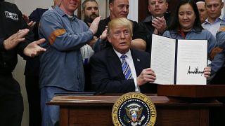Acier et aluminium : Trump déclare la guerre