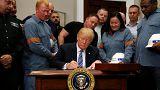 Donald Trump anuncia taxas sobre importação de aço e alumínio